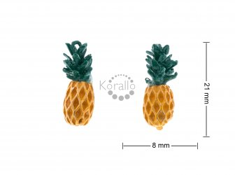 Ananas 21 mm - smalt